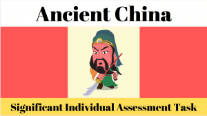 Significant Individual Research Assessment on Ancient China