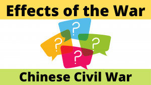 Effects of the Chinese Civil War 1945-49