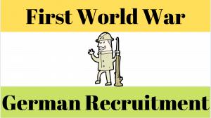 German Recruitment during The First World War