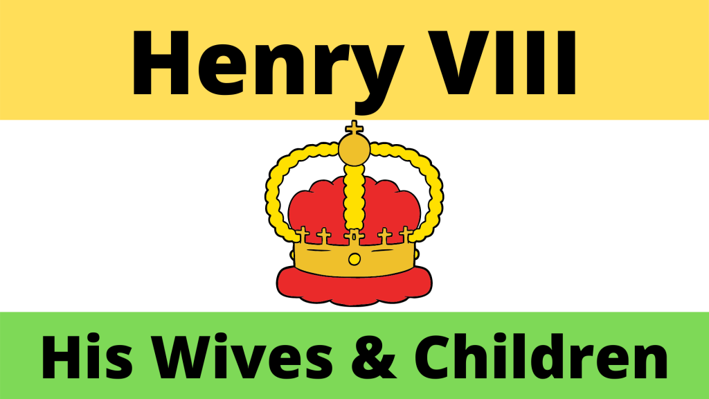 King Henry VIII and his family