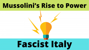 Mussolini - Rise to Power