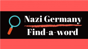Nazi Germany Find-a-word Puzzle