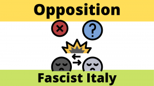Opposition fascist italy
