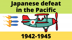 Japanese retreat and defeat in the Pacific 1942-1945