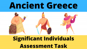Ancient Greece Significant Individuals Assessment Task