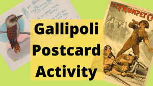 Gallipoli Postcard Activity