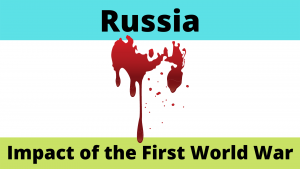 Impact of the First World War on Russia