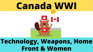 Canada during World War One