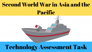 World War Two Asia Theatres of War Assessment Task