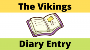 Life as a Viking Diary Entry Worksheet