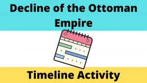 Decline of the Ottoman Empire Timeline Activity